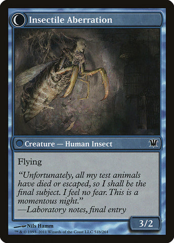 Delver of Secrets // Insectile Aberration [Innistrad]