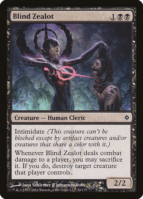 Blind Zealot [New Phyrexia]