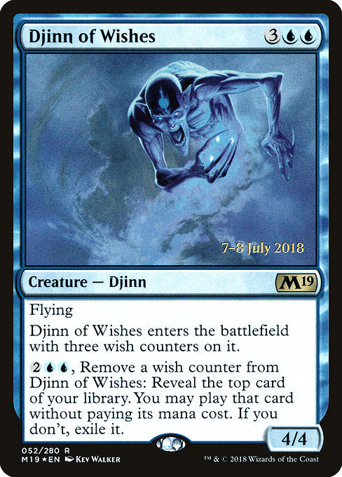 Djinn of Wishes [Core Set 2019 Promos]