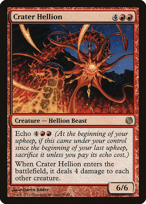 Crater Hellion [Duel Decks: Heroes vs. Monsters]