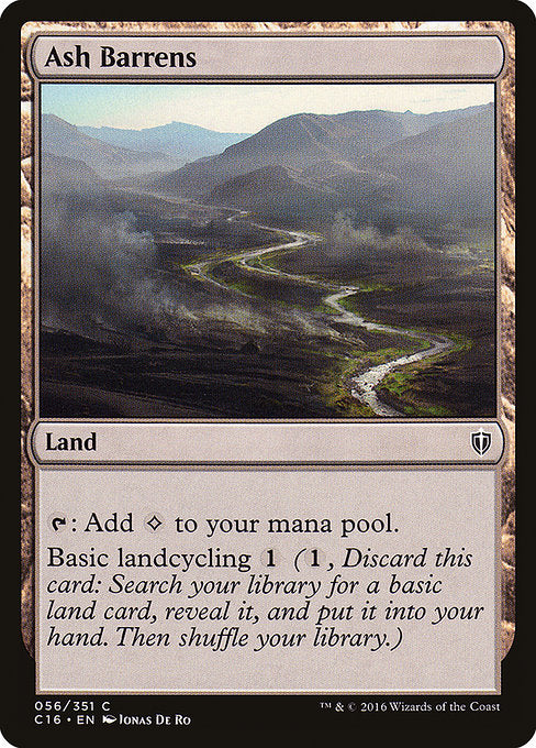 Ash Barrens [Commander 2016]