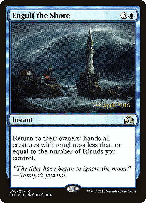 Engulf the Shore [Shadows over Innistrad Promos] | The Dark Side