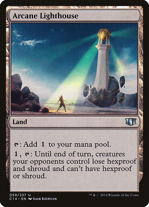 Arcane Lighthouse [Commander 2014]