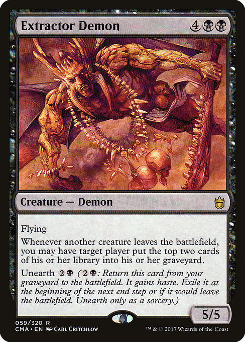Extractor Demon [Commander Anthology]