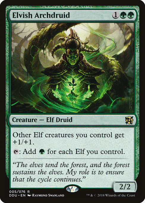 Elvish Archdruid [Duel Decks: Elves vs. Inventors]
