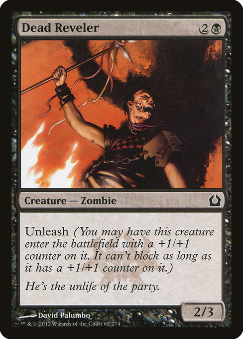 Dead Reveler [Return to Ravnica]