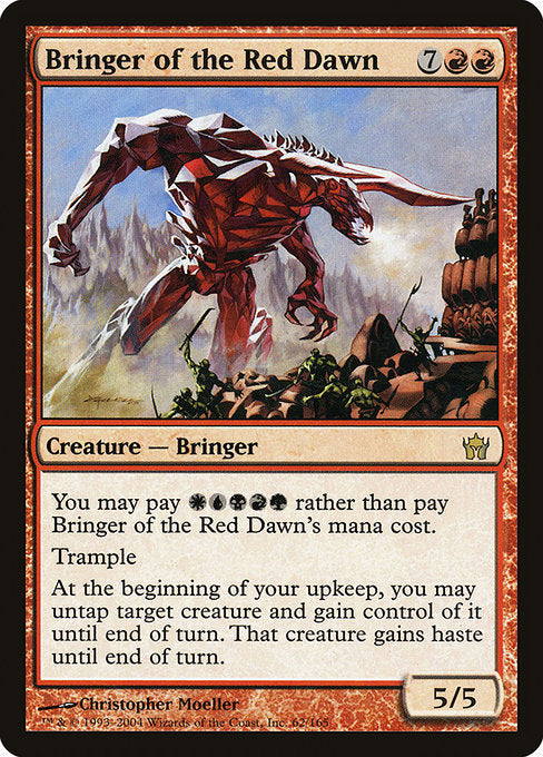 Bringer of the Red Dawn [Fifth Dawn]