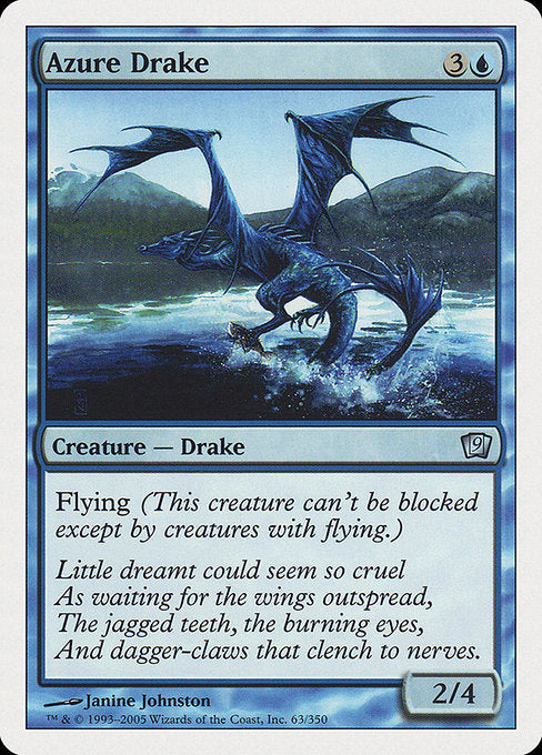 Azure Drake [Ninth Edition]