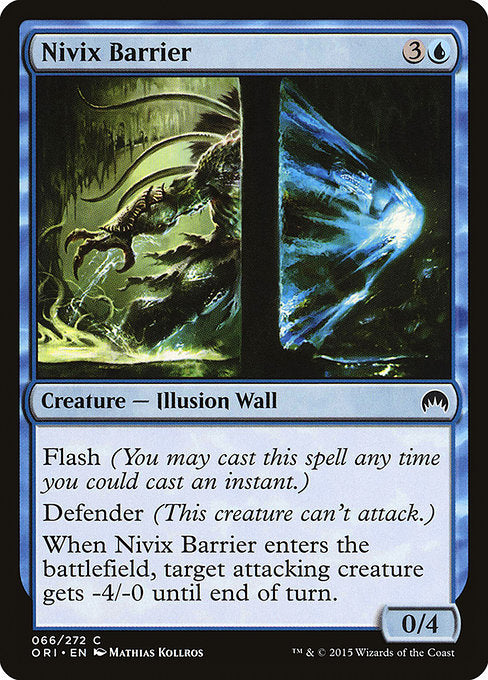 Nivix Barrier [Magic Origins]