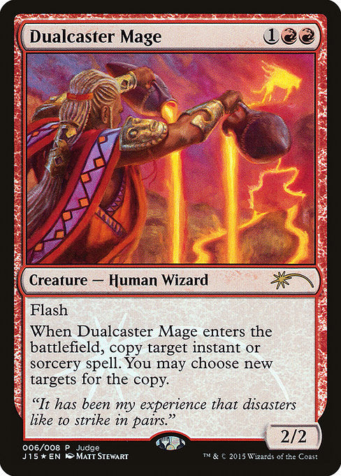 Dualcaster Mage [Judge Gift Cards 2015]