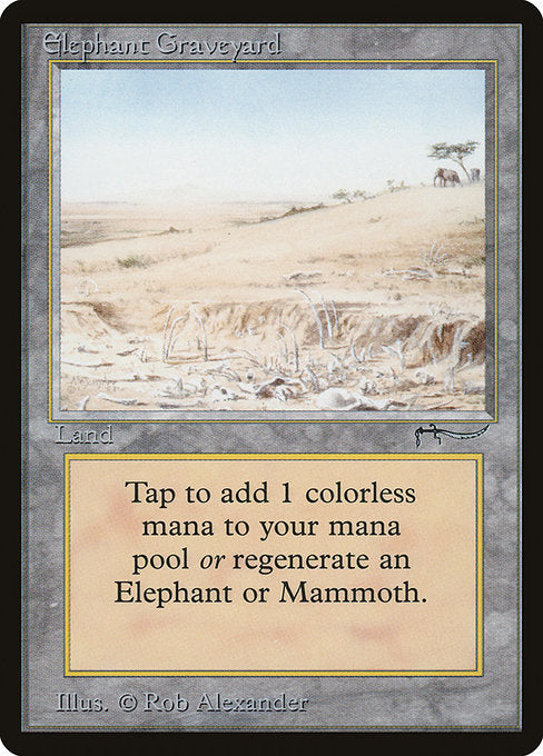 Elephant Graveyard [Arabian Nights]