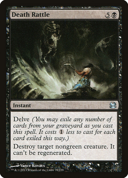 Death Rattle [Modern Masters]