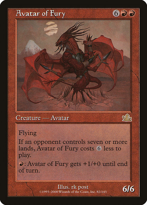 Avatar of Fury [Prophecy]