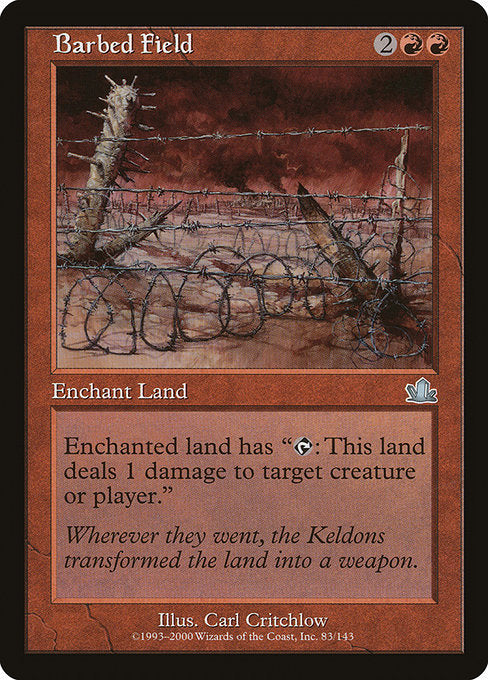 Barbed Field [Prophecy]