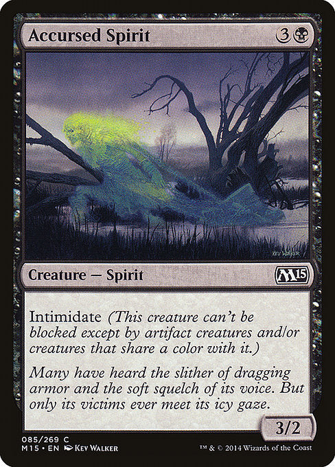 Accursed Spirit [Magic 2015]
