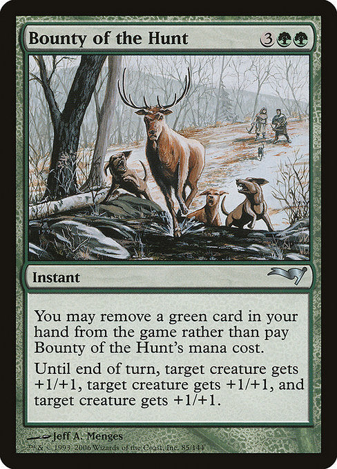 Bounty of the Hunt [Coldsnap Theme Decks]