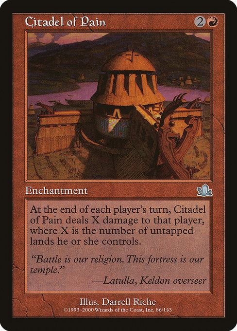 Citadel of Pain [Prophecy]