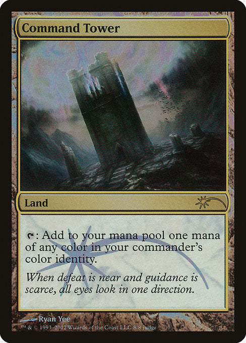 Command Tower [Judge Gift Cards 2012]