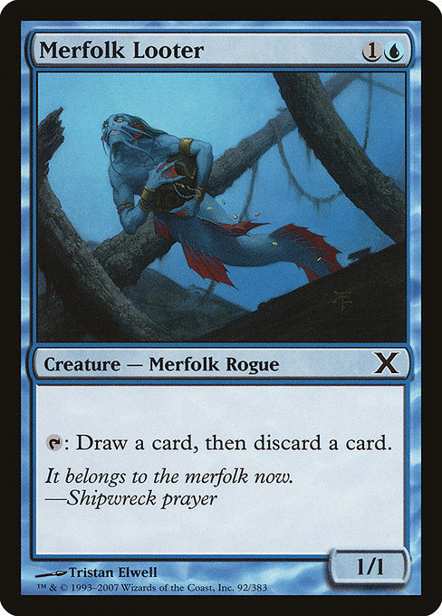 Merfolk Looter [Tenth Edition]