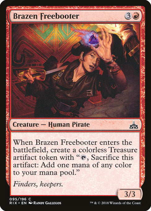 Brazen Freebooter [Rivals of Ixalan]