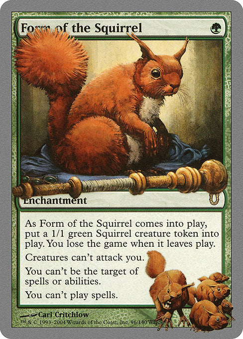 Form of the Squirrel [Unhinged]