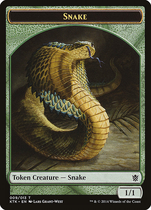 Snake [Khans of Tarkir Tokens]