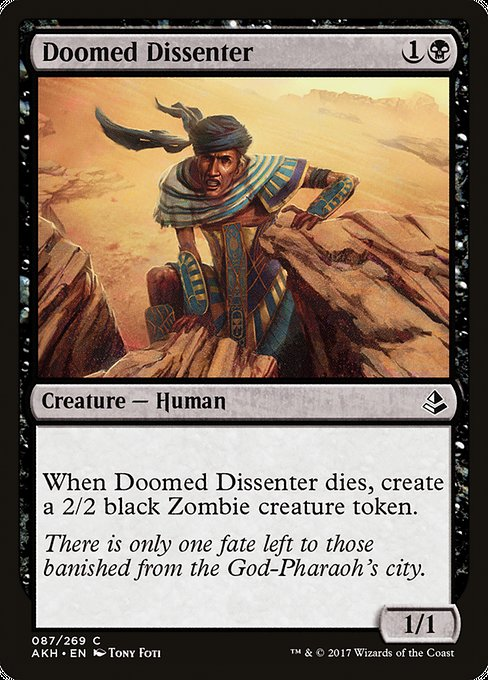 Doomed Dissenter [Amonkhet]