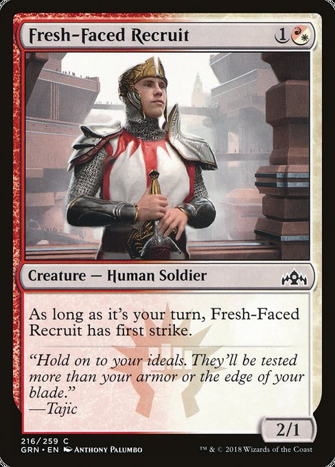 Fresh-Faced Recruit [Guilds of Ravnica]