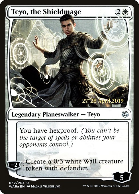 Teyo, the Shieldmage [War of the Spark Promos]