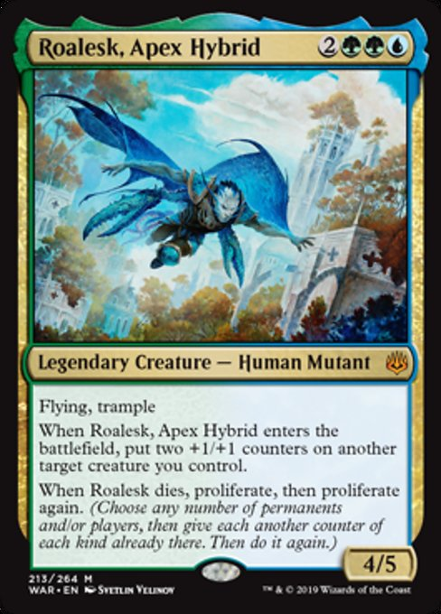 Roalesk, Apex Hybrid [War of the Spark]
