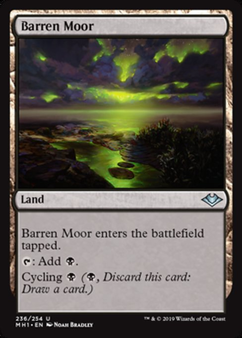 Barren Moor [Modern Horizons] | The Dark Side