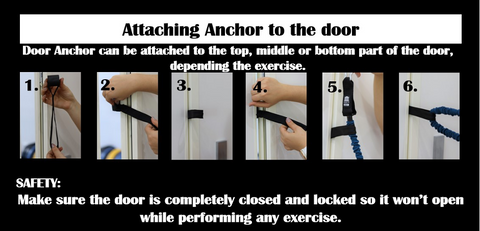 Attaching Tubes to the Door