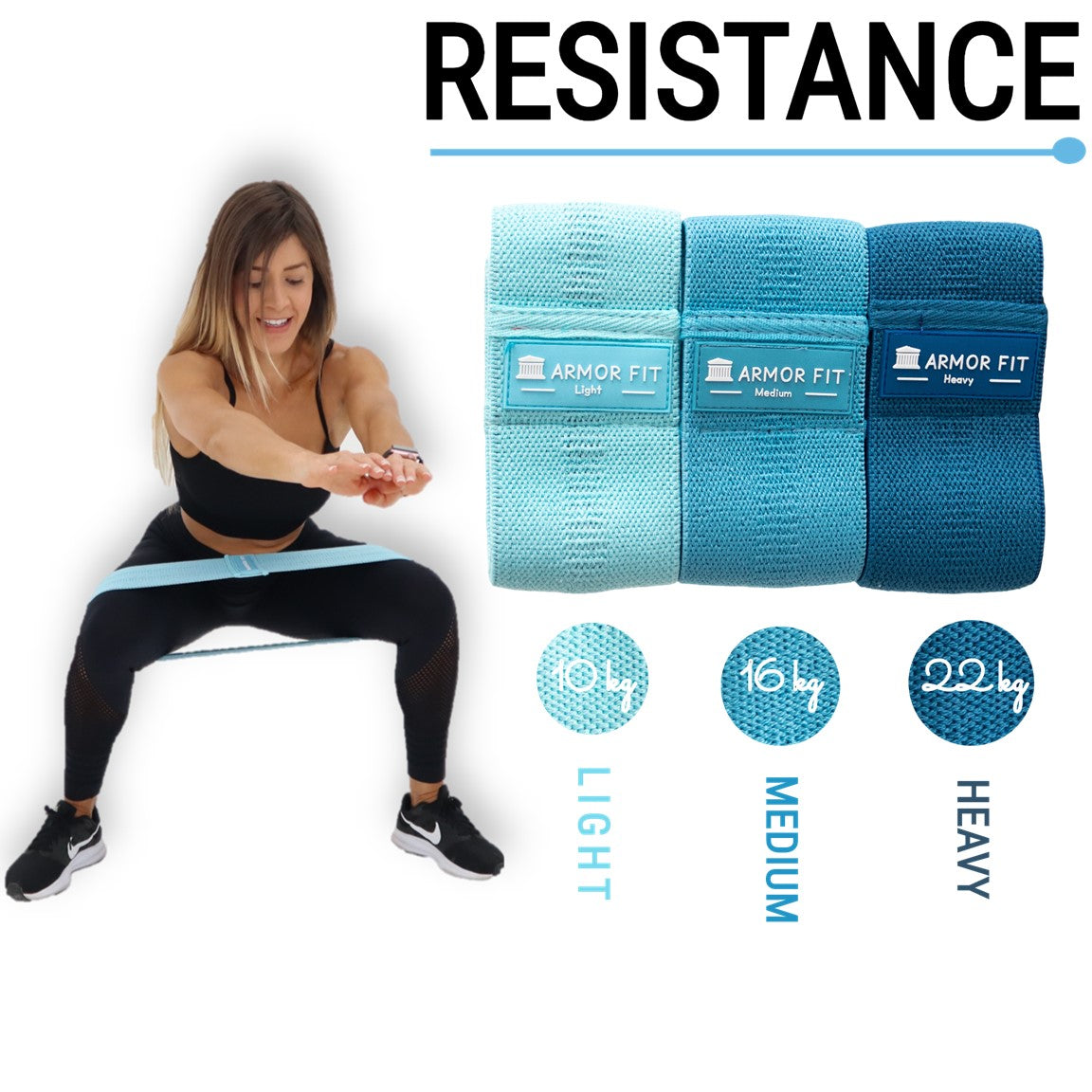 Resistance Bands Pack