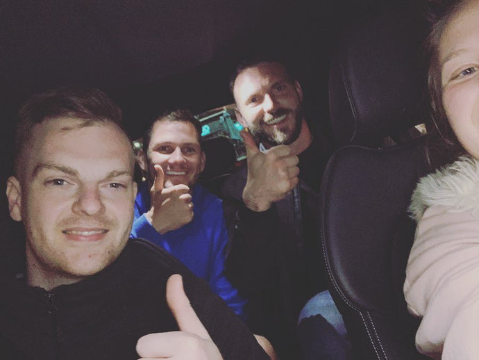 The night I gave James Norwood a lift home