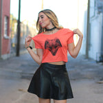 The Fox Cropped Tee