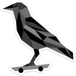 The Crow (sticker)