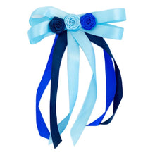 Load image into Gallery viewer, Barrette Flower Ribbon