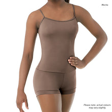 Load image into Gallery viewer, Skin-tones Camisole Biketard
