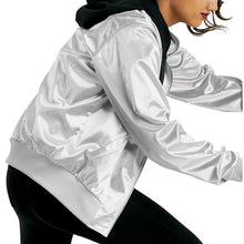 Load image into Gallery viewer, Satin Bomber Jacket (Unisex)