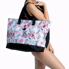 Load image into Gallery viewer, My Cheetah Floral Tote