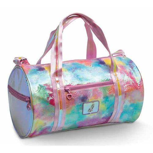Pastel Clouds and Hearts Duffle