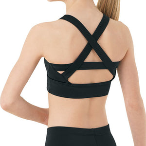 Wide Crisscross Back Crop