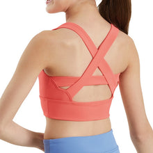 Load image into Gallery viewer, Crisscross Back Bra Crop