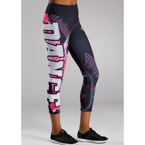 Dance Stars Cropped Legging