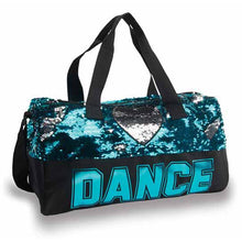 Load image into Gallery viewer, Sequin Dance Heart Duffle