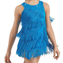 Load image into Gallery viewer, Fringe and Sequin Dress