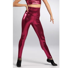Load image into Gallery viewer, High Waist Metallic Leggings