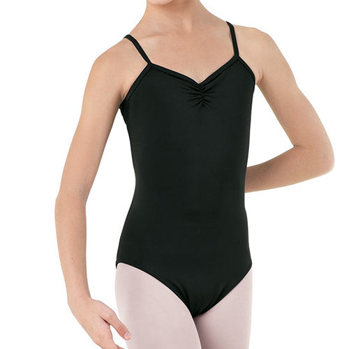 High Back Pinch Front Leotard