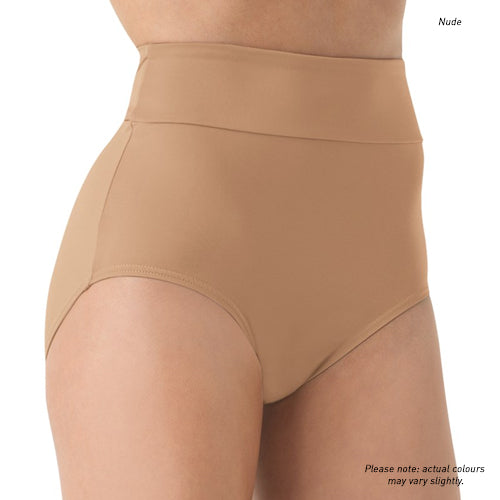 Skin-tones High Waist Briefs