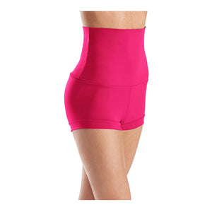 Bright Pink High Waist Shorts